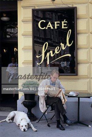 Cafe Sperl, Vienna, Austria, Europe
