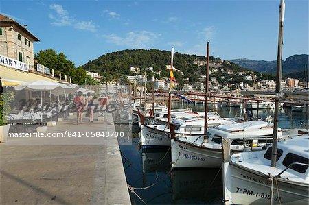 Port, Port de Soller, Mallorca (Majorque), îles Baléares, Espagne, Méditerranée, Europe