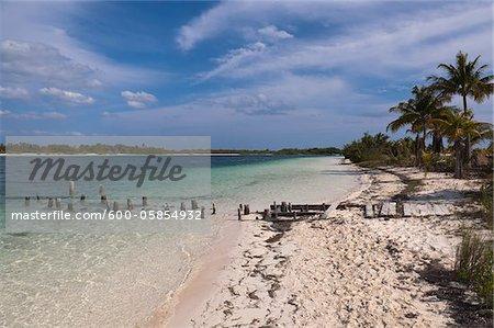 Plage, Cayo Largo, Cuba archipel Canarreos