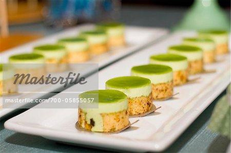 Zeilen-Desserts