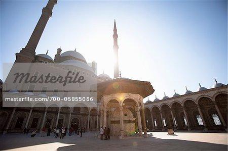 Mosque of Muhammad Ali, Saladin Citadel, Cairo, Egypt
