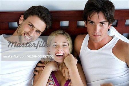 männer lächeln