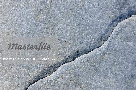 Stone with Crack, Nanortalik, Kujalleq, Kejser Franz Joseph Fjord, Greenland