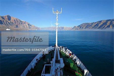 Navire d'expédition Kejser Franz Joseph fjord, Groenland