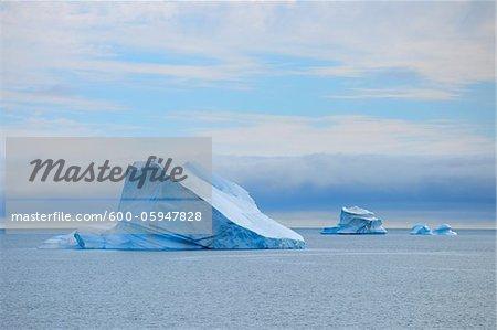 Eisberg, Kong Oscar Fjord, Grönland