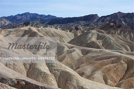 Zabriskie Point, Death Valley National Park, Californie, USA