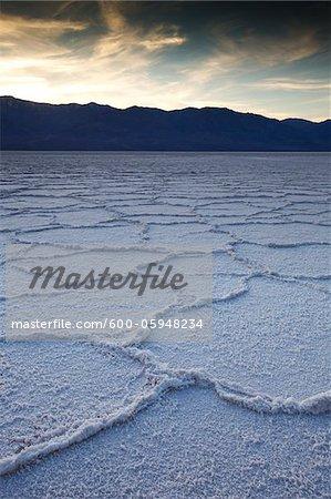 Badwater Salt Flats, Death Valley National Park, California, USA