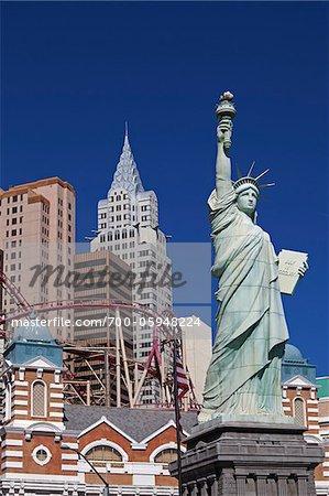 New York-New York Hotel & Casino, Las Vegas, Nevada, USA