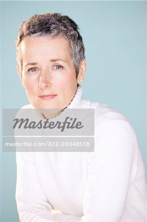 Porträt von Reife Frau