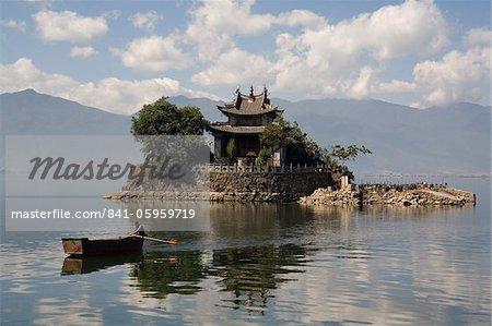 Lesser Putuo Island, Erhai Lake, Dali, Yunnan, China, Asia