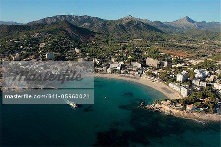 Playa de Peguera, Majorque, Baléares Îles, Espagne, Méditerranée, Europe