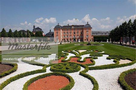 Schwetzinger Schloss, Baden-Württemberg, Deutschland, Europa