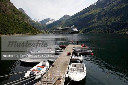 Geiranger Fjord, UNESCO World Heritage Site, More og Romsdal, Norway, Scandinavia, Europe