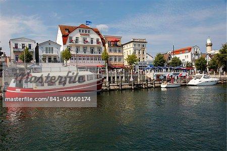 Port, Warnemunde, Mecklembourg-Poméranie occidentale, Allemagne, Europe