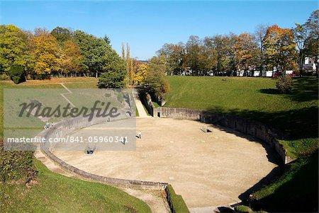 Roman amphitheater, UNESCO World Heritage Site, Trier, Rhineland-Palatinate, Germany, Europe