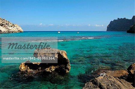 Cala de San Vicente, Majorque, Baléares Îles, Espagne, Méditerranée, Europe