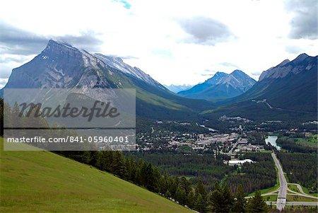 Banff, Banff National Park, UNESCO World Heritage Site, Alberta, Rocky Mountains, Canada, North America