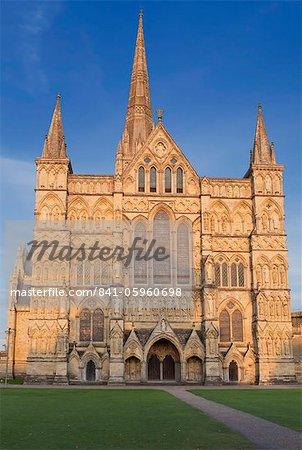Salisbury Kathedrale, Salisbury, Wiltshire, England, Vereinigtes Königreich, Europa
