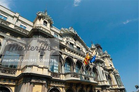 Port Authority Building, Port Vell, Barcelona, Katalonien, Spanien, Europa