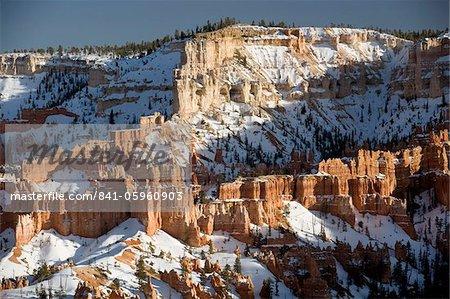 Landschaft, Bryce Canyon Nationalpark, Utah, Vereinigte Staaten von Amerika, Nordamerika
