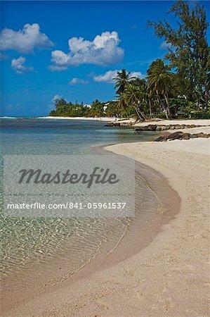 White sand beach, Bridgetown, Barbados, West Indies, Caribbean, Central America