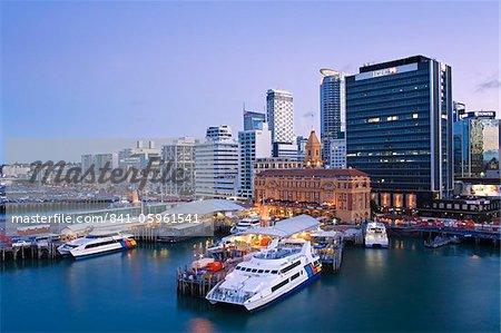 City skyline, Auckland, North Island, Nouvelle-Zélande, Pacifique