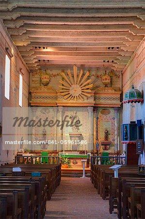 Mission San Miguel Arcangel, Paso Robles, San Luis Obispo County, California, United States of America, North America