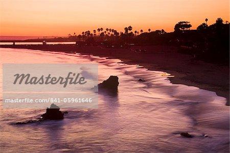 Corona del Mar Beach, Newport Beach, Orange County, California, United States of America, North America