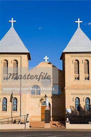 Basilica of St. Albino in Old Mesilla village, Las Cruces, New United States of America, North AmericaUSA