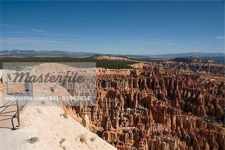 Touristischer Sicht Inspiration Point, Bryce Canyon Nationalpark, Utah, Vereinigte Staaten von Amerika, Nordamerika