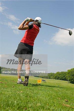 Femme golf