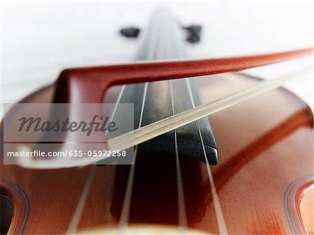 Nahaufnahme von Geigen- und