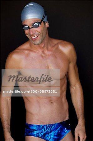 Portrait du nageur