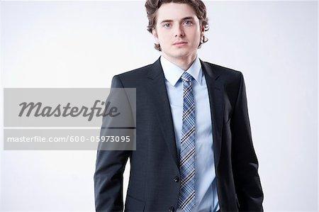Porträt des jungen Geschäftsmann