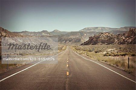 Utah State Route 12, Garfield County, Utah, Etats-Unis
