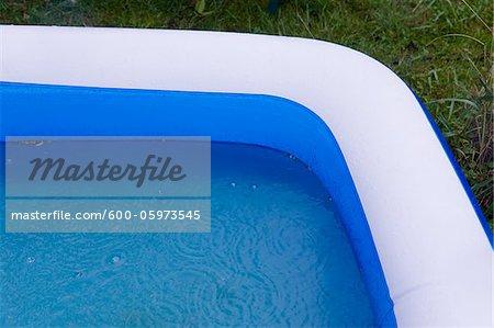 Inflatable Pool, Freiburg, Baden-Wurttemberg, Germany