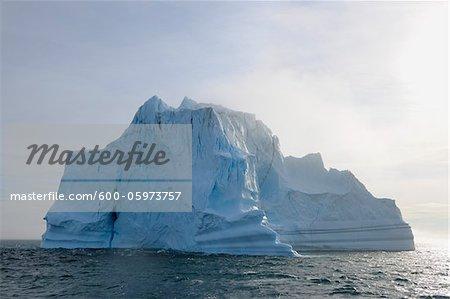 Eisberg im Scoresbysund, Grönland