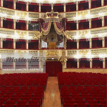 Teatro di San Carlo, Neapel, Kampanien, Italien