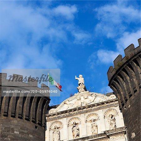 Castel Nuovo, Neapel, Campania, Italien