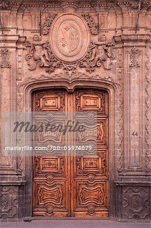 Colonial Door, Mexico City, Mexico