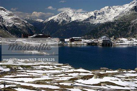 Lac Grimsel, Oberland bernois, Suisse