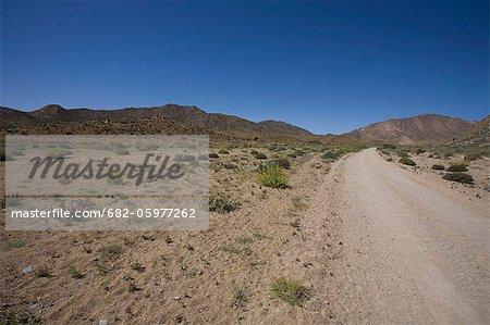 Le Richtersveld est situé dans le Namaqualand du Nord de l'Afrique du Sud, cette région aride représente un paysage rude, où l'eau est d'une grande rareté et survivre seulement le plus rustique des formes de vie. Province de Northern Cape, Afrique du Sud