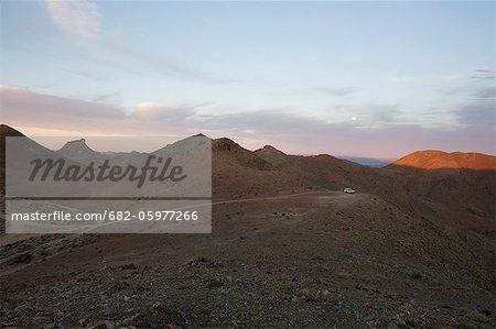 Plaine du Richtersveld, Province de Northern Cape, en Afrique du Sud, le désert