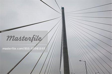 Stonecutters Bridge, New Territories, Hongkong