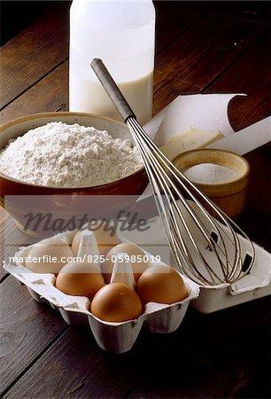 ingrédients pour crêpes