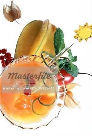cocktail de fruits exotique