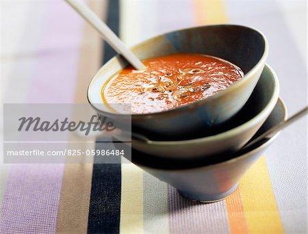 Soupe de tomate indienne