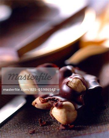 Haselnuss-Schokolade