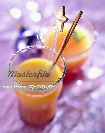 boisson de fruit cocktail