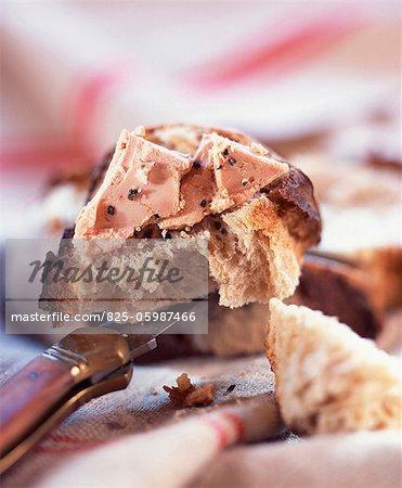 Foie gras sur pain
